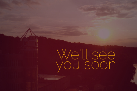 we'll see you soon video