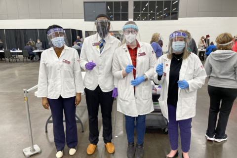 students in ppe